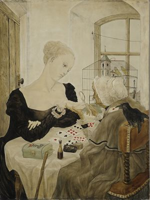 Foujita cartomancienne