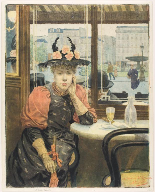 buveuse-d'absinthe-albert-emmanuel-bertrand-vers 1890