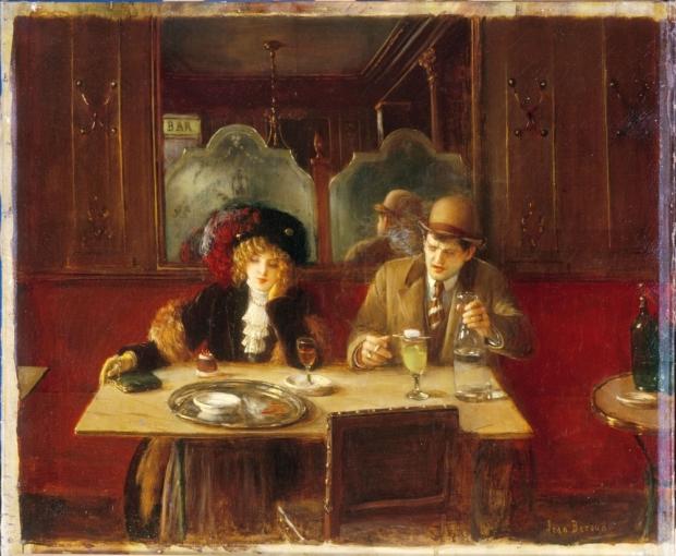 11a_Jean Beraud-Scene de cafe