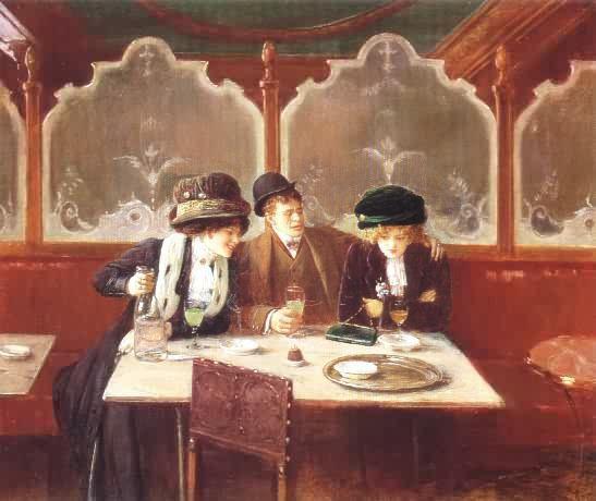 13a_Jean Beraud-Scene de cafe
