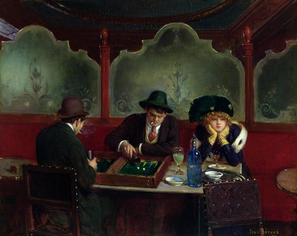 22_Jean_Beraud_Joueurs de Backgammon