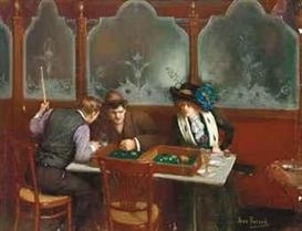 24_Jean_Beraud_Joueurs de Backgammon