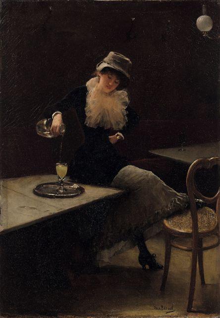 Jean BERAUD L'absinthe 1882