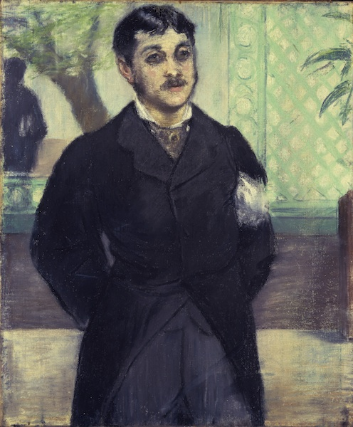 manet_Portrait de M. Gauthier-Lathuille fils, 1879 Don promis au Los Angeles, County Museum of Art