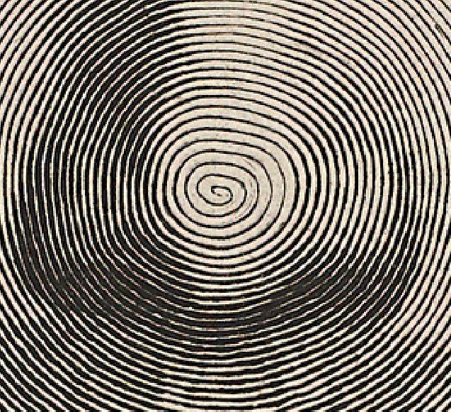 Mellan detail spirale