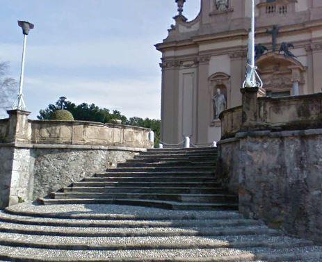 veduggio escalier face Ouest