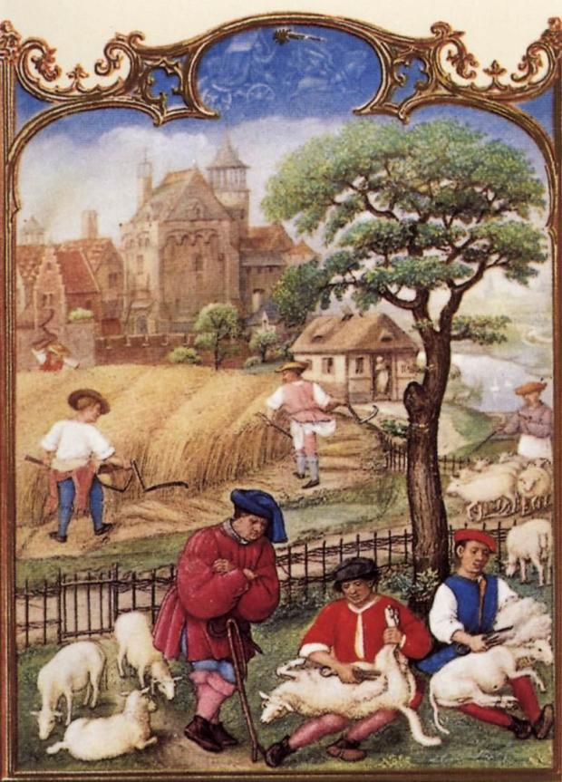 1510_Grimani_Breviary_-_The_Month_of_July_-_WGA15781