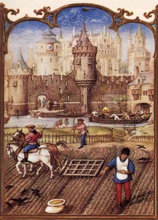 1510_Grimani_Breviary_-_The_Month_of_October_-_WGA15784