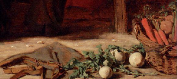 Augustus Egg A teasing riddle -detail