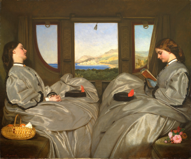 Augustus Leopold Egg The Travelling Companions_reduit
