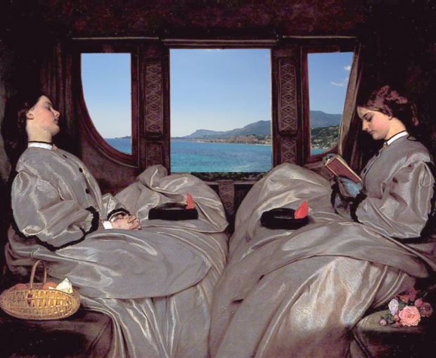 Augustus_Leopold_Egg_-_The_Travelling_Companions_Paysage
