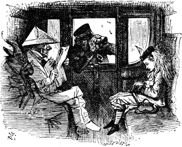 tenniel-alice-on-the-train