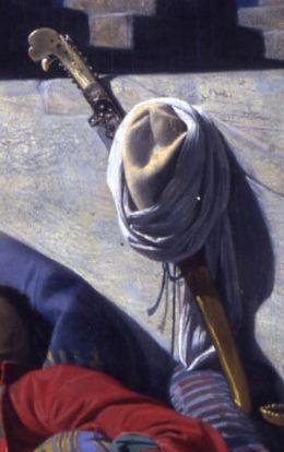 Lecomte_du_Nouy 1874_Le Songe de l'Eunuque_detail sabre