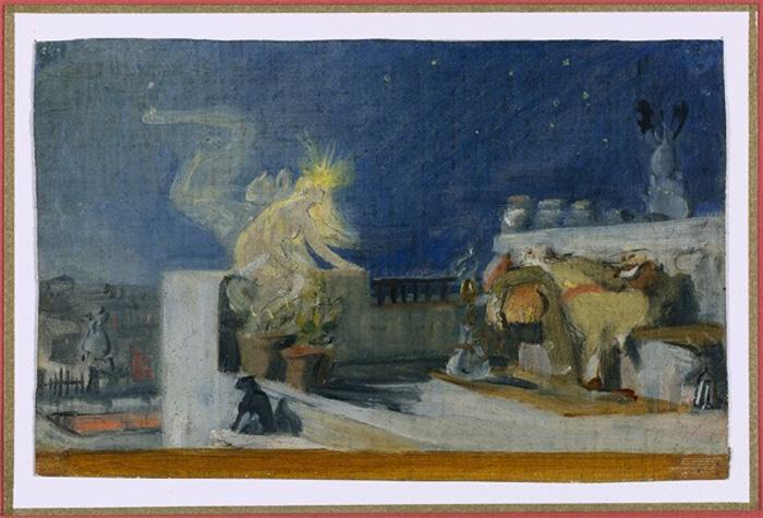 Lecomte_du_Nouy  1904_Reve d'Orient esquisse