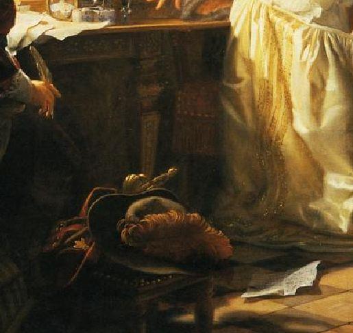 Lecomte_du_Nouy_Mademoiselle de Maupin_deux lettres