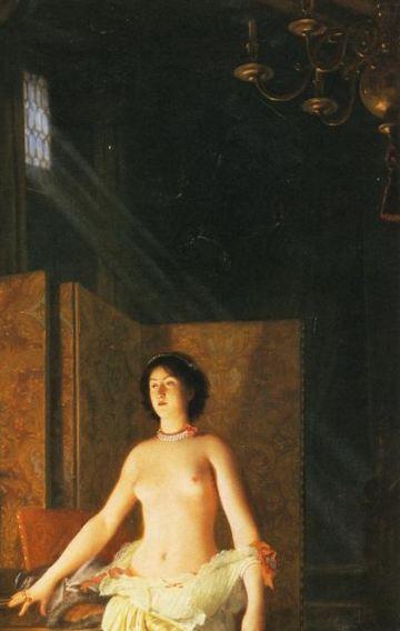 Lecomte_du_Nouy_Mademoiselle de Maupin_paravent
