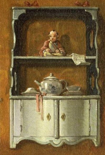 Boucher-Une dame sur son divan 1743 etagere