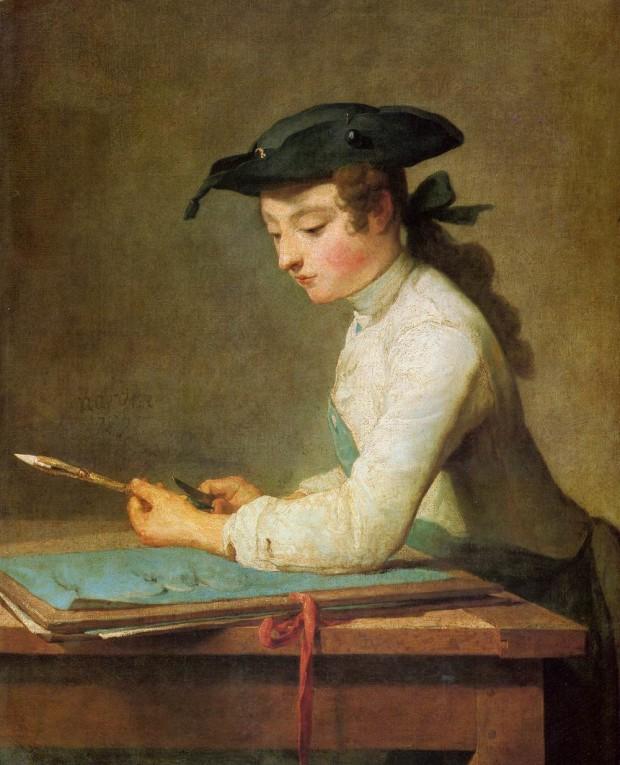 Chardin Jeune dessinateur