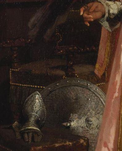 Adrien De Boucherville  Son perroquet chéri 1872 détail