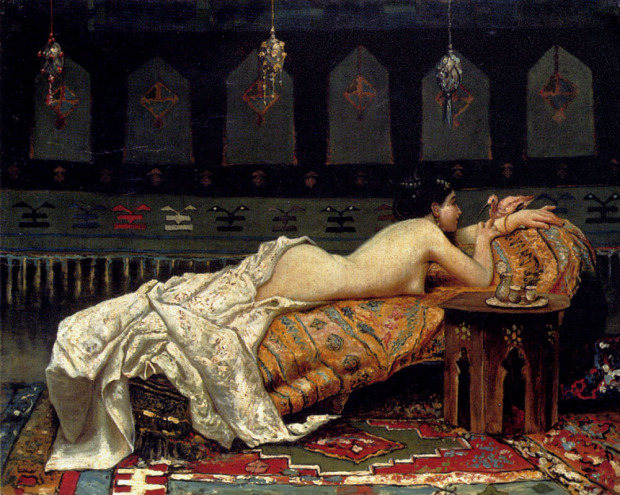 Francesco Paolo Michetti Odalisque 1873