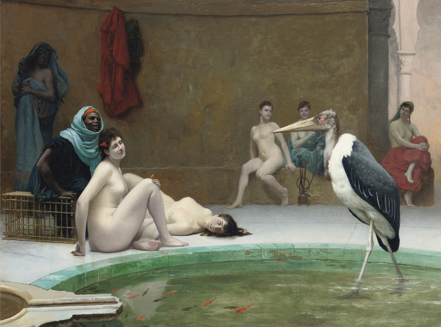 Jean-Leon Gereme Le Marabout in the Harem