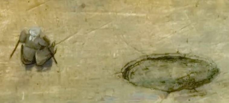 Pieter_Bruegel_L ancien Le trebuchet trou