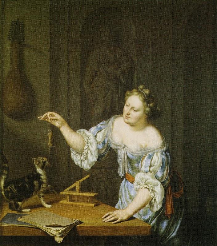 Willem van Mieris - La souriciere