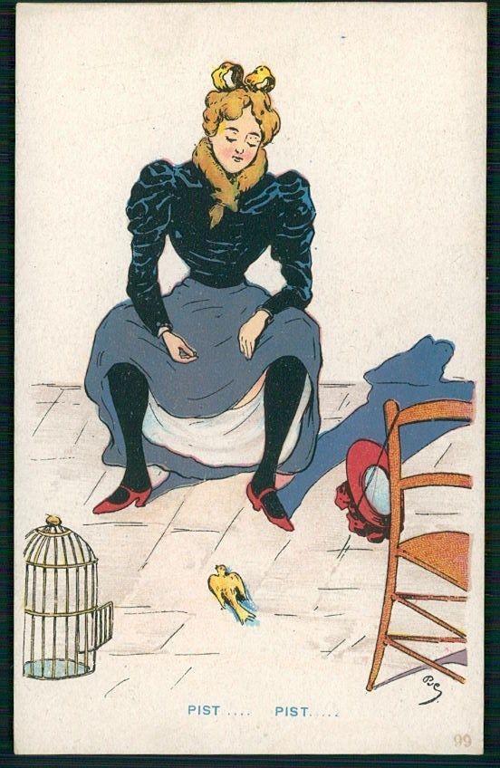 carte postale portugaise