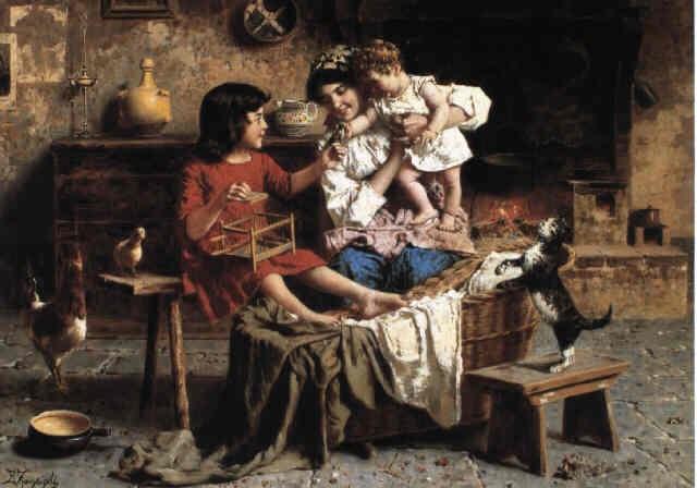 Amusing Baby Zampighi, Eugenio