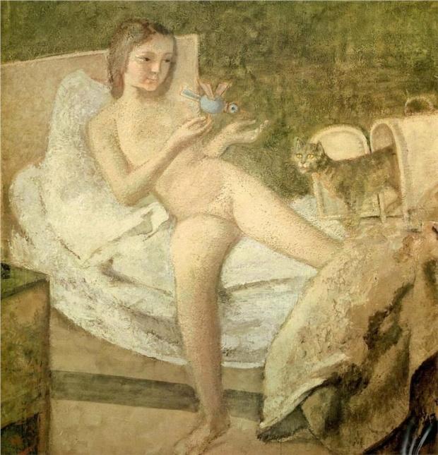 Balthus Le lever