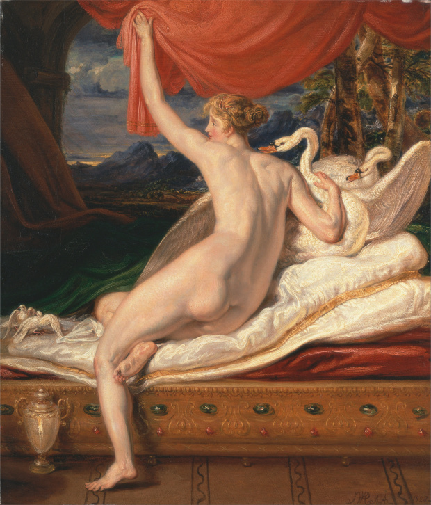 James Ward Venus sortant de sa couche 1828