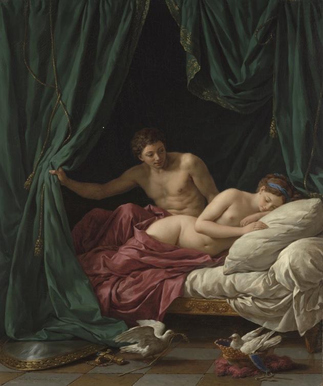 Lagrenee allegorie de l'amour getty
