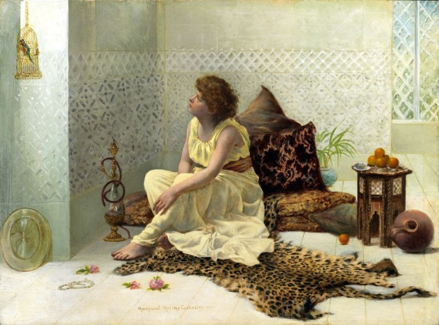 Margaret Murray Cookesley A Caged Bird 1891
