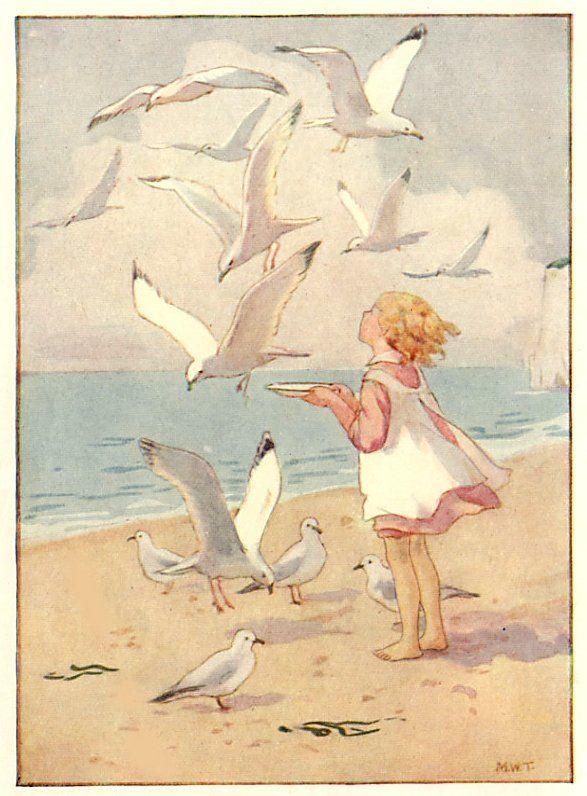 Margaret W. Tarrant Seagulls