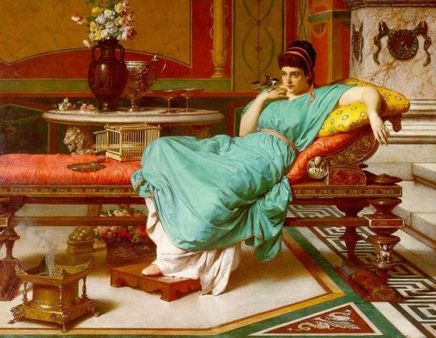 giannetti raffaelle 1870 A Pompeian Beauty Collection privee