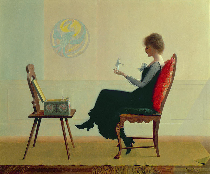 harry wilson watrous_the_suitors_c1910