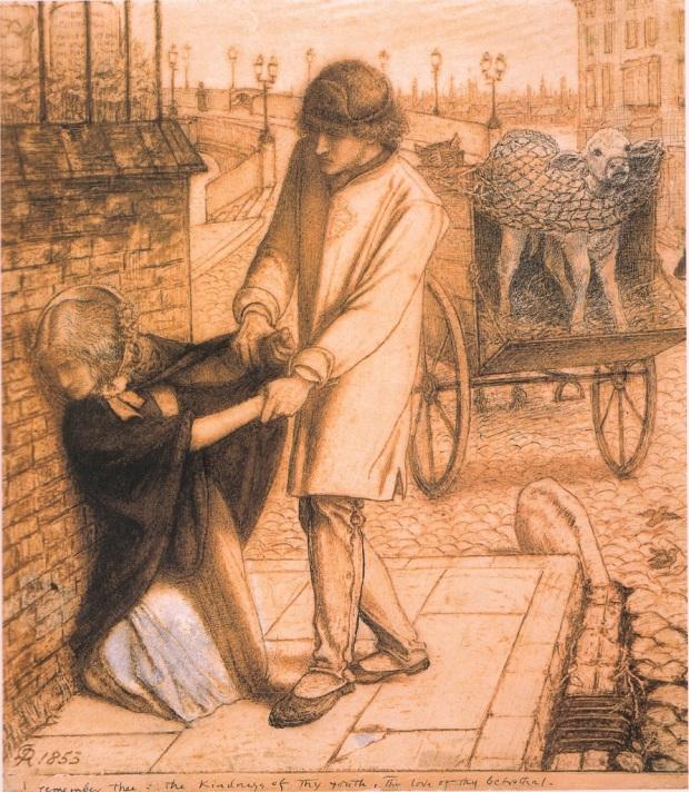 Dante_Gabriel_Rossetti_Study_for_Found_1853