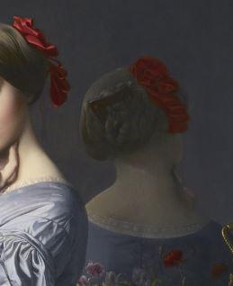 Jean-Auguste-Dominique_Ingres_-_Comtesse_d Haussonville miroir