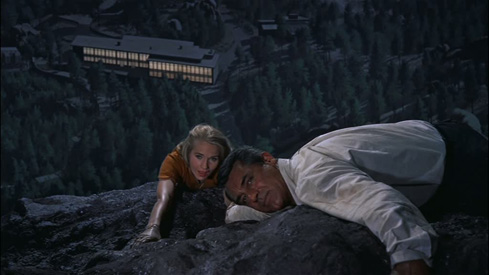 North By Northwest Hitchcock Cary Grant Eva Marie Saint pic 3