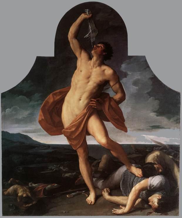 The Triumph of Samson Guido Reni - 1611-12 Pinacoteca Nazionale, Bologna