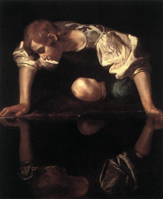Caravaggio-Narcisse