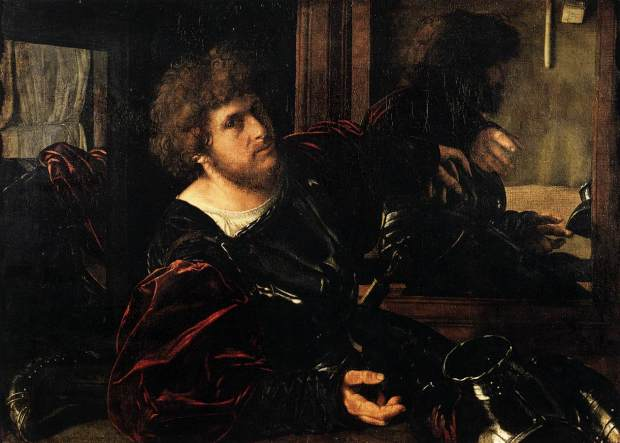 Giovanni_Gerolamo_Savoldo_Autoportrait Vers 1525 Louvre
