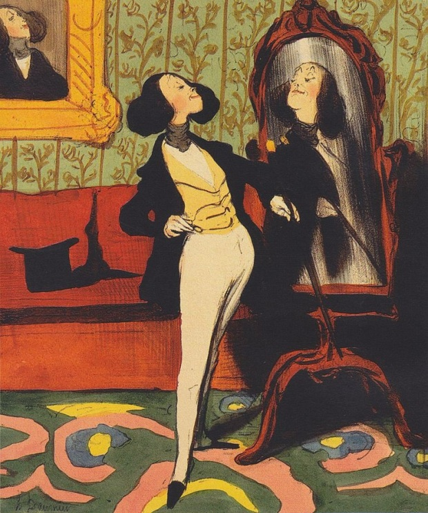 Honoré_Daumier_Dandy