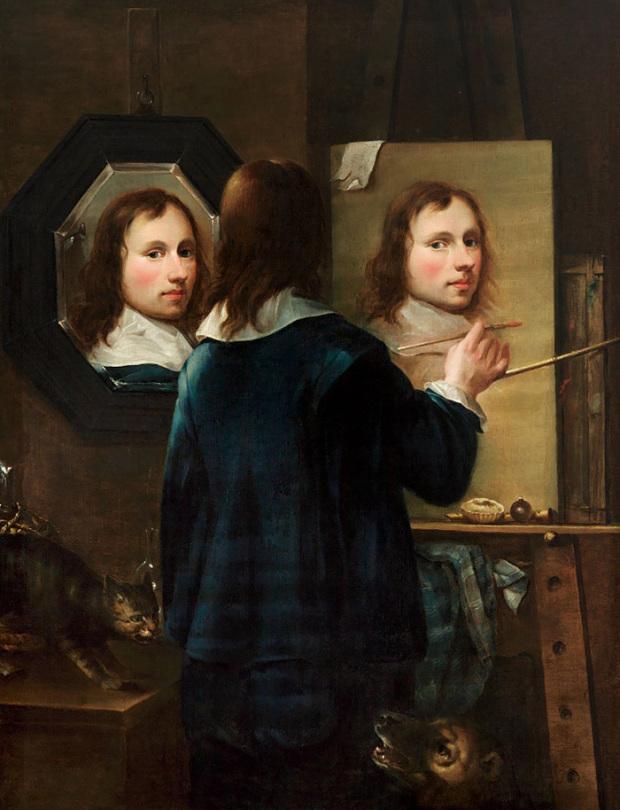 Johannes Gumpp, Autoportrait, 1646