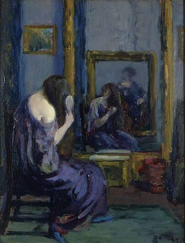 Leon Kroll Before the Mirror 1911