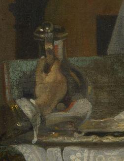 Ludolf de Jongh Le verre refuse 1650-55 National Gallery pichet