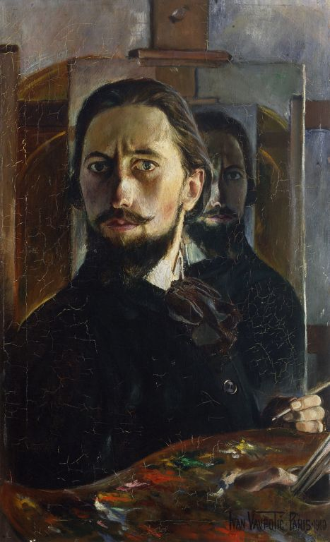 Selfportrait Ivan Vavpotic 1909