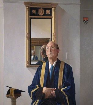 Sir-Harry-Pitt-Vice-Chancellor-of-the-University-of-Reading-1978-by-Norman-Charles-Blamey
