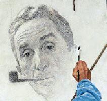 norman-rockwell-autoportrait_peinture
