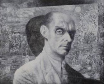 richard-oelze-autoportrait-1948